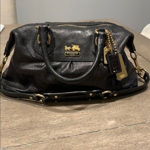 Coach Madison Small Sabrina, Black. Style #12937